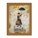 "Mary Poppins Dictionary Digital Art Print ~ 8"" x 10"" ~ Julie Andrews, P L Travers"