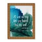 """Judy Garland ~ 8"""" x 10"""" ~ Alcohol Ink Print ~ Not my lips you kissed but my soul"""