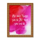 """Lucille Ball ~ 8"""" x 10"""" ~ Alcohol Ink Print ~ The more things you do...you can do"""