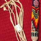Handcrafted Beaded Native American Church Peyote Loose Fan Handle 0029