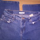 Women's Juniors 8M Levi's 512 Perfectly Slimming Bootcut Dark Wash Stretch Jeans