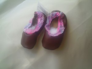 Ballerina Shoes Soft Sole Leather Size 4