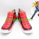 Pocket Monsters XY Ash Ketchum red black ver 1 cos Cosplay Shoes Boots shoe boot