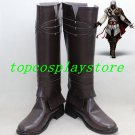Assassins C reed 2 Ezio Cosplay Shoes boots