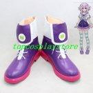 Hyperdimension Neptunia Planeptune Purple Heart Neptune Cosplay Boots shoes