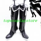 Vocaloid Black Rock Shooter cosplay shoes boots shoe boot high heel 1