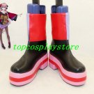 VOCALOID Luka cosplay shoes boots RED BLACK THREE COLOR