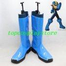 Hot Sale Blue Rockman Megaman Cosplay Women Party Boots shoes shoe