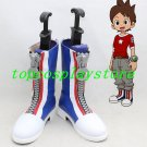 Youkai Watch Amano Keita lin Cosplay Shoes boots big zipper ver shoe boot