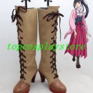 ninelie Aimer with chelly EGOIST Ayame Anime cos Cosplay Shoes Boots shoe boot high heel