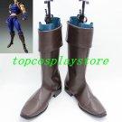 JoJo's Bizarre Adventure Jonathan Joestar Cosplay Boots shoes #15YJZ61