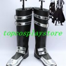 D.Gray-man Allen Walker Yu Kanda Cosplay Boots shoes black 3dw