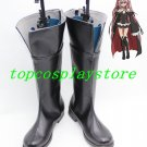 Owari no Seraph Seraph of the End Anime Krul Tepes Cosplay Shoes Black Boots #OS002
