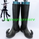 Soul Eater Cosplay Blair Black Cosplay Boots shoes flat ver