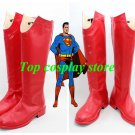 Superman Returns Superman cosplay shoes boots shoe boot hand made