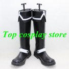 D.Gray-Man Allen Walker Black white Cosplay Boots shoes shoe boot