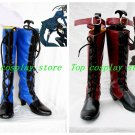 Black Butler Ciel Phantomhive Fancy Cosplay Boots Shoes with shoestring shoe