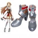 Sword Art Online  Hollow Realization Asuna Yuuki high heel Cosplay Boots shoes 2