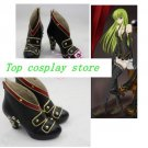 Code Geass high heel Cosplay Boots shoes  #cos094 New hand made Halloween shoe