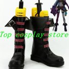 LOL Loose Cannon Jinx Cosplay Shoes Boots Custom made #LOL012  shoe boot