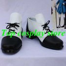 Black Butler Ciel Phantomhive Cosplay shoes boots shoe black&white lace up ver
