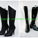 Sailor Moon Sailor Pluto Meiou Setsuna Cosplay Shoes Black Boots shoe boot