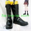 Nana Cosplay Osaki Nana Shinyichi Okazaki Black Cosplay Boots shoes #NO03 shoe
