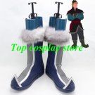 Frozen Princess Anna Kristoff cos Cosplay Boots Shoes shoe boot hand made