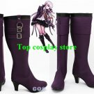 Danganronpa Dangan Ronpa Kirigiri Kyouko Purple Cosplay Shoes Boots shoe boot
