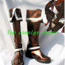 D.Gray-man Lavi Rabi III Cosplay Boots shoes brown white #DGC017 shoe boot