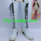 Amnesia Cosplay Heroine White Cosplay Boots shoes shoe boot