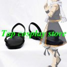 Fairy Tail Cosplay Natsu Dragneel Cosplay Shoes black FT001 shoe boot
