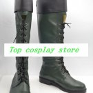 Green Arrow Oliver Queen TV ver cos Cosplay Shoes Boots shoe boot  #JZ591