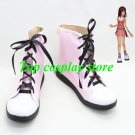 Kingdom Hearts 2 Kairi Cosplay Shoes Boots pink Hand Made shoe boot
