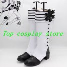 Kuroshitsuji Black Butler Charles Grey Charles Gray Cosplay Shoes Boots shoe 22
