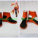 GUILTY CROWN Inori Yuzuriha cosplay shoes short Ver boots  #GC006  shoe boot