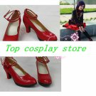 D.Gray-man Lenalee Lee Cosplay Boots shoes New Custom-Made hand made Halloween