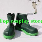 Pokemon Pocket Monster GenerationV Green Cosplay Boots shoes