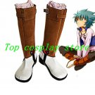 Yu-Gi-Oh! GX Jesse Anderson Johan Andersen John Cosplay Boots shoes #YG002 shoe