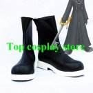 Kingdom Hearts Roxas Cosplay Boots shoes black ver with white sole #KH008