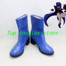 Teen Titans Raven blue cosplay shoes boots shoe boot hand made