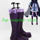 KARNEVAL Kiichi Purple Cosplay Boots shoes  shoe boot