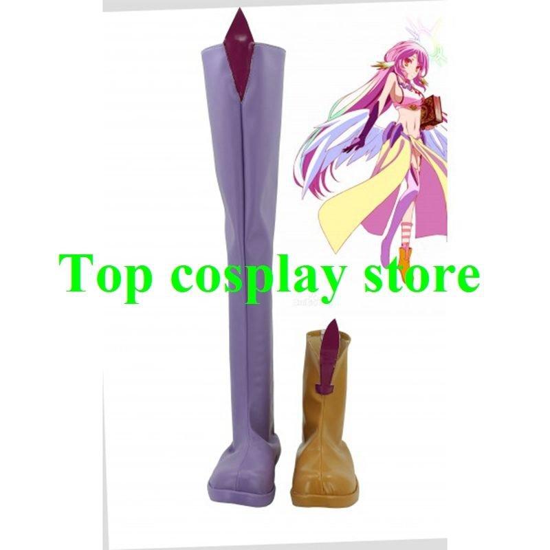 NO GAME NO LIFE Jibril Cosplay Boots shoes #NG002 shoe boot