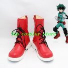 Boku no Hero Academia Midoriya Izuku Cosplay Boots shoes shoe boot