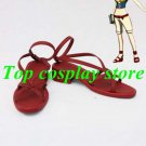 Fairy Tail Cosplay Levy Mcgarden Cosplay Shoes #FT012 shoe boot