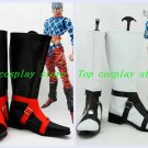 JoJo's Bizarre Adventure JOJO Guido Mista Black & White Cosplay Boots shoes