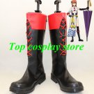 GINTAMA Gin Tama Kagura leader Cosplay Boots shoes shoe boot