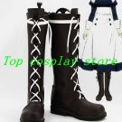 Black Butler Mey-Rin Maylene cosplay Shoes Boots Custom-Made #BBC048 shoe boot