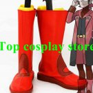 Pokemon Pocket Monster Maxie Red Cosplay Boots shoes shoe boot