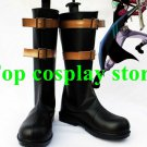 One Piece Dracule Mihawk Cosplay Shoes Boots Hand Made Custom Made Version D #OP